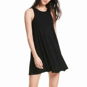 Free People LA Nite Mini Dress Black S